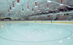 Kennedy Arena ice surface