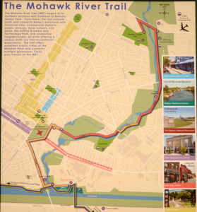 Mowhawk River Trail map