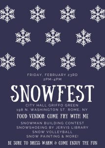 Snowfest @ Griffo Green @ City Hall | Rome | New York | United States