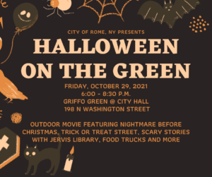 Halloween on the Green @ City Hall: Griffo Green | Rome | New York | United States